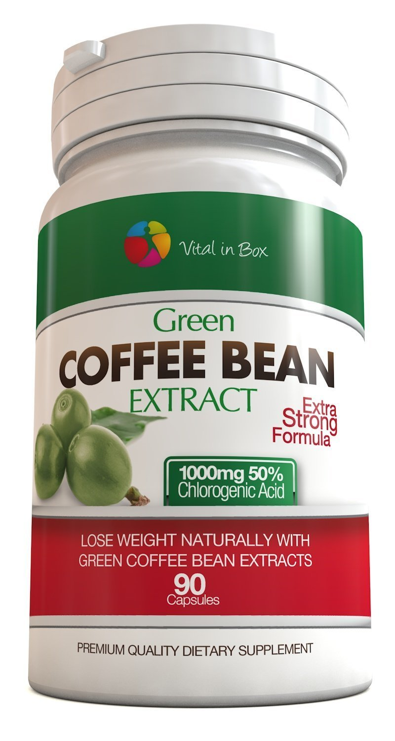 do i take green coffee bean extract with food