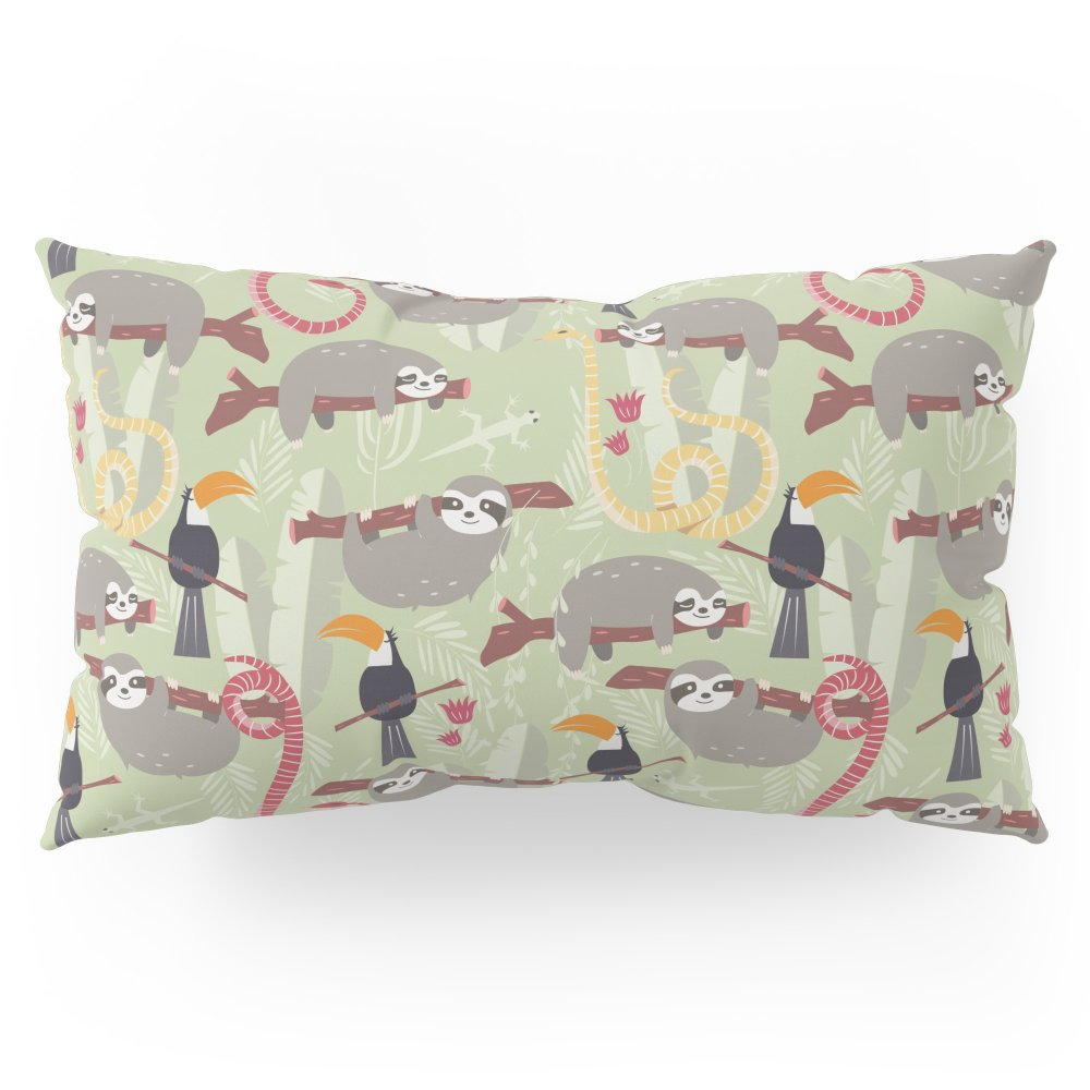Society6 Rain Forest Animals 005 Pillow Sham King (20'' x 36'') Set of 2