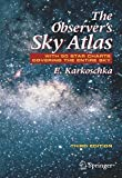 img - for The Observer's Sky Atlas: With 50 Star Charts Covering the Entire Sky by Erich Karkoschka (2007-09-05) book / textbook / text book