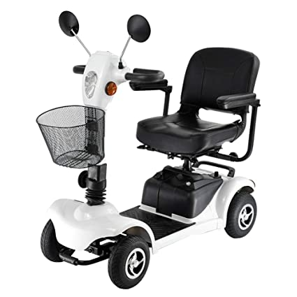 ZZUU Scooter Electrico Minusvalido Moto para Personas ...