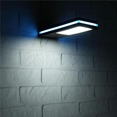 Mur Lampes Énergie Solaire Mml Solaires Extérieur De 144 Led EDWHI29
