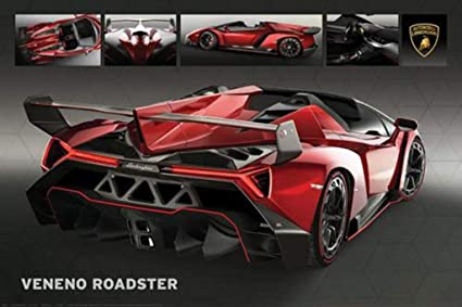 Lamborghini Veneno Roadster Exotic Super Sports Car Photo