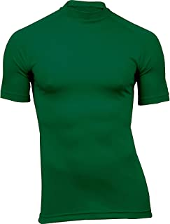 product image for WSI Microtech Short Sleeve Form Fit Shirt, Forest Green, Large