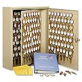 MMF Industries 240-key Wall Cabinet-Dupli-Key Cabinet,240 Key Capacity,16-1/2''x5''x20-1/2'',Sand