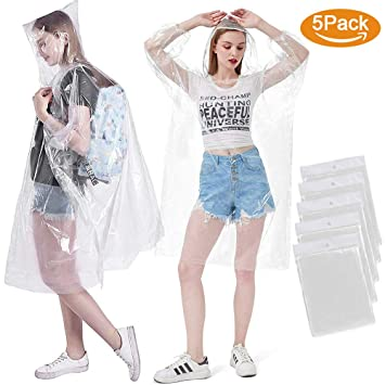 WATERPROOF PONCHO MAC ONE SIZE WALKING THEME PARK FESTIVAL DRIVING SPORTS