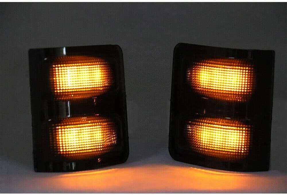 Sanooer LED Side Mirror lens Marker Lights For Ford F250 F350 F450 F550 2008-2016 Turn Signal Lamp