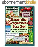 Essential Vegetables Box Set (4 Books in 1 Package): Organic Gardening with Tomatoes, Potatoes, Peppers, Eggplants, Broccoli, Cabbage, and More (English Edition)