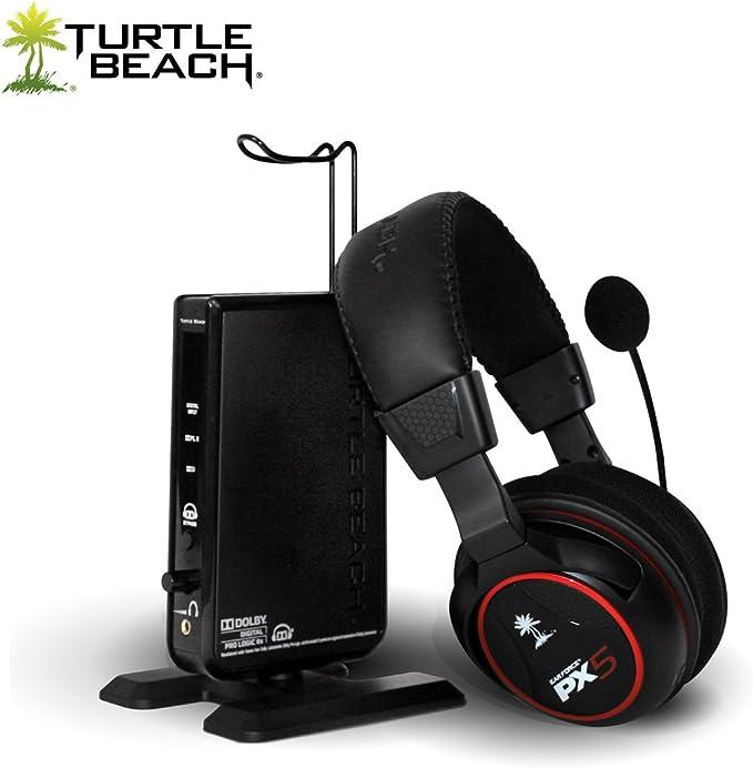 Turtle Beach Ear Force PX5 - Auriculares (Inalámbrico, RF inalámbrico, 2.4 GHz, 20 - 20000 Hz, 120 Db, neodimio): Amazon.es: Videojuegos