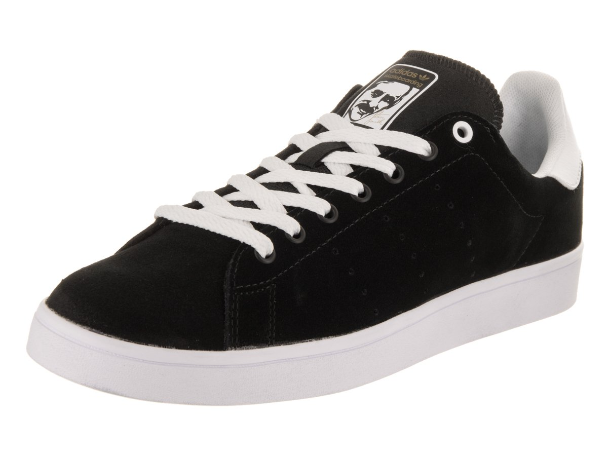 adidas Originals Men's Stan Smith Vulc Shoes B01HMZLV62 5 B(M) US Women / 4 D(M) US Men|Black