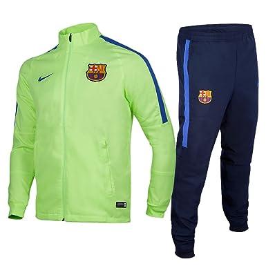 Nike 808949-368 Chándal Fútbol Club Barcelona, Hombre: Amazon.es ...