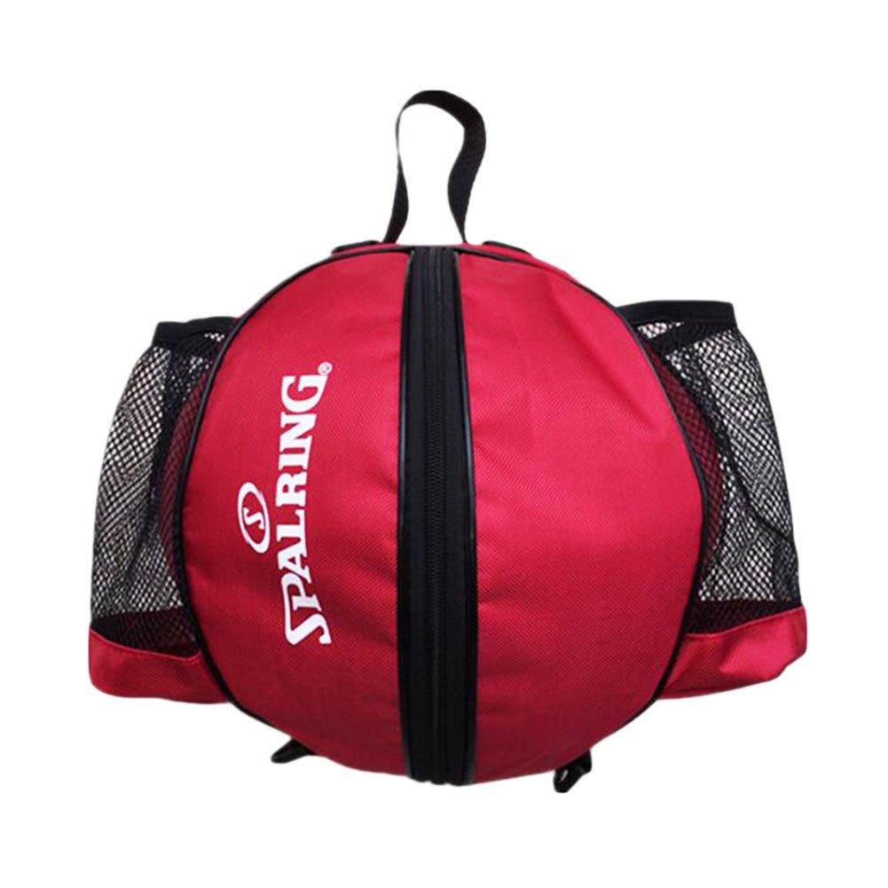 George Jimmy Fashion Cool Basketball Bag Training Bag Single-shoulder Soccer Bag-Red