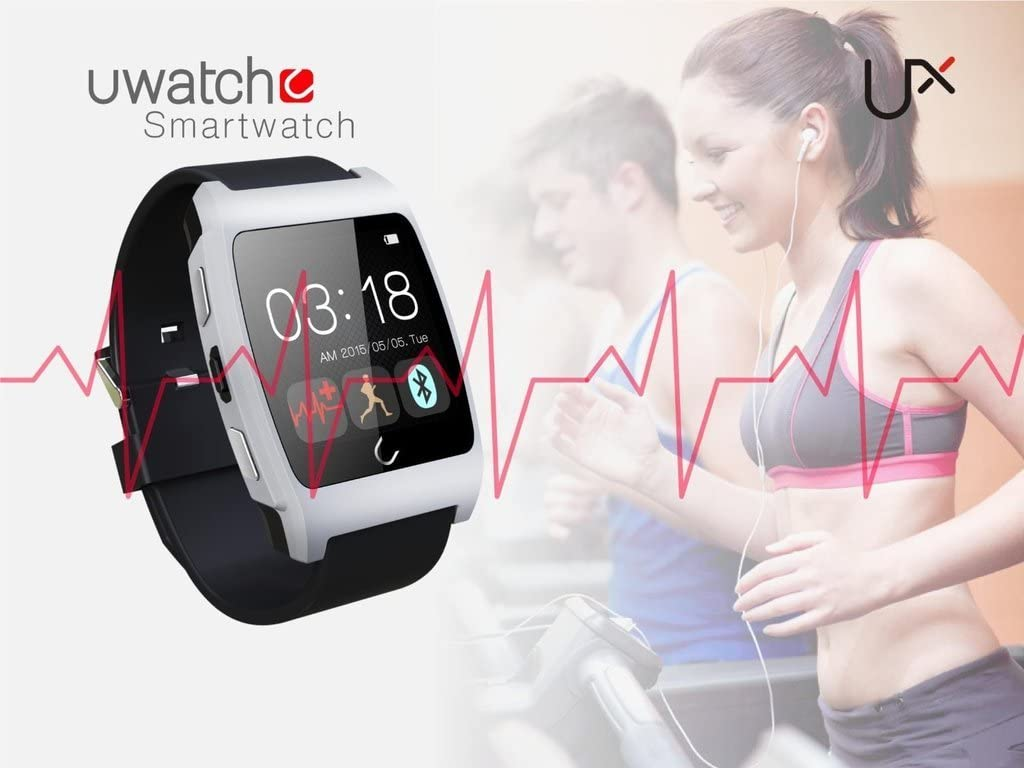 Amazon.com: HAMSWAN Smart Wrist Watch Bluetooth 4.0 Fitness ...