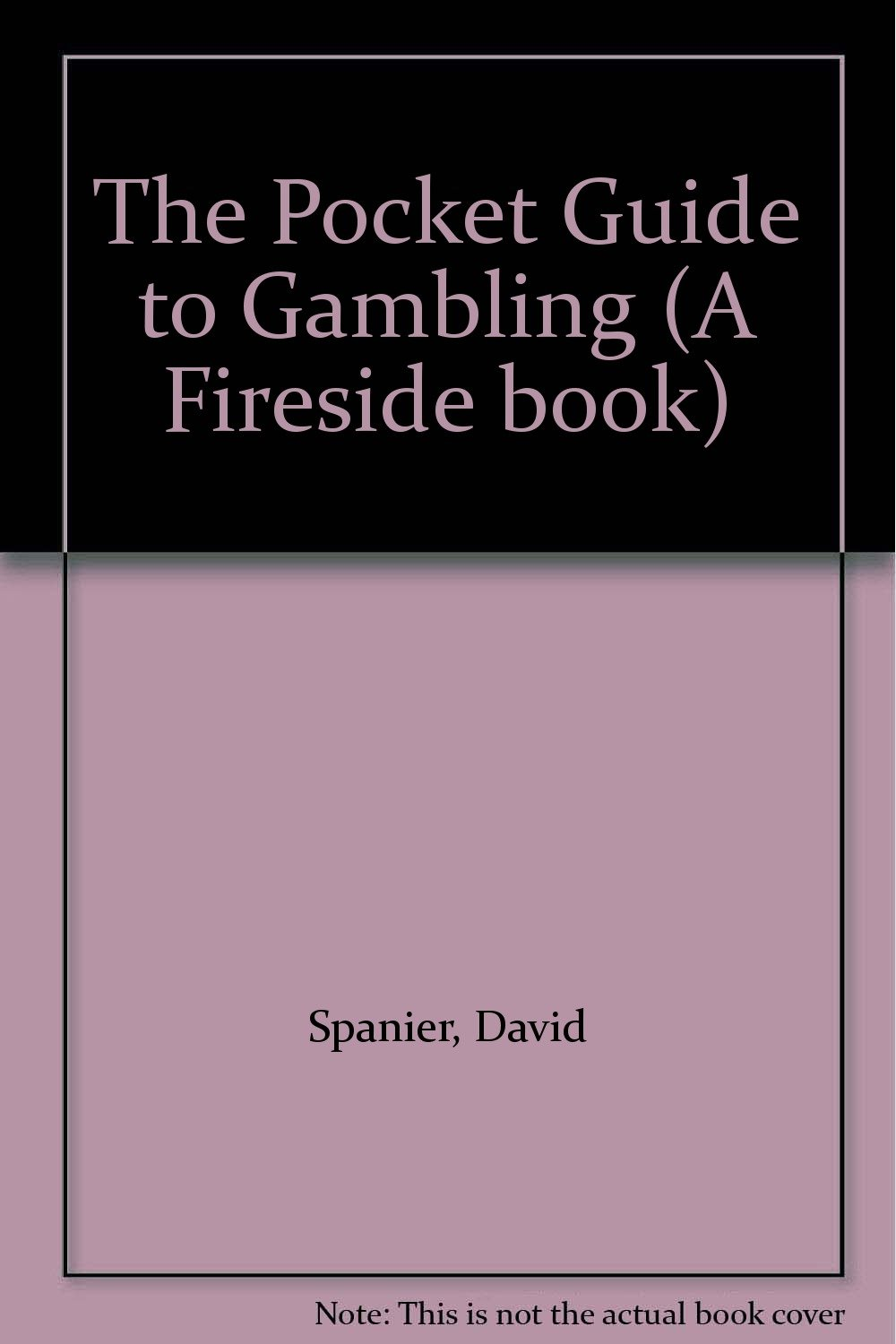 Book gambling guide problem gambling personality