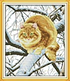 Happy Forever Cross Stitch Animals, the fat cat - Best Reviews Guide