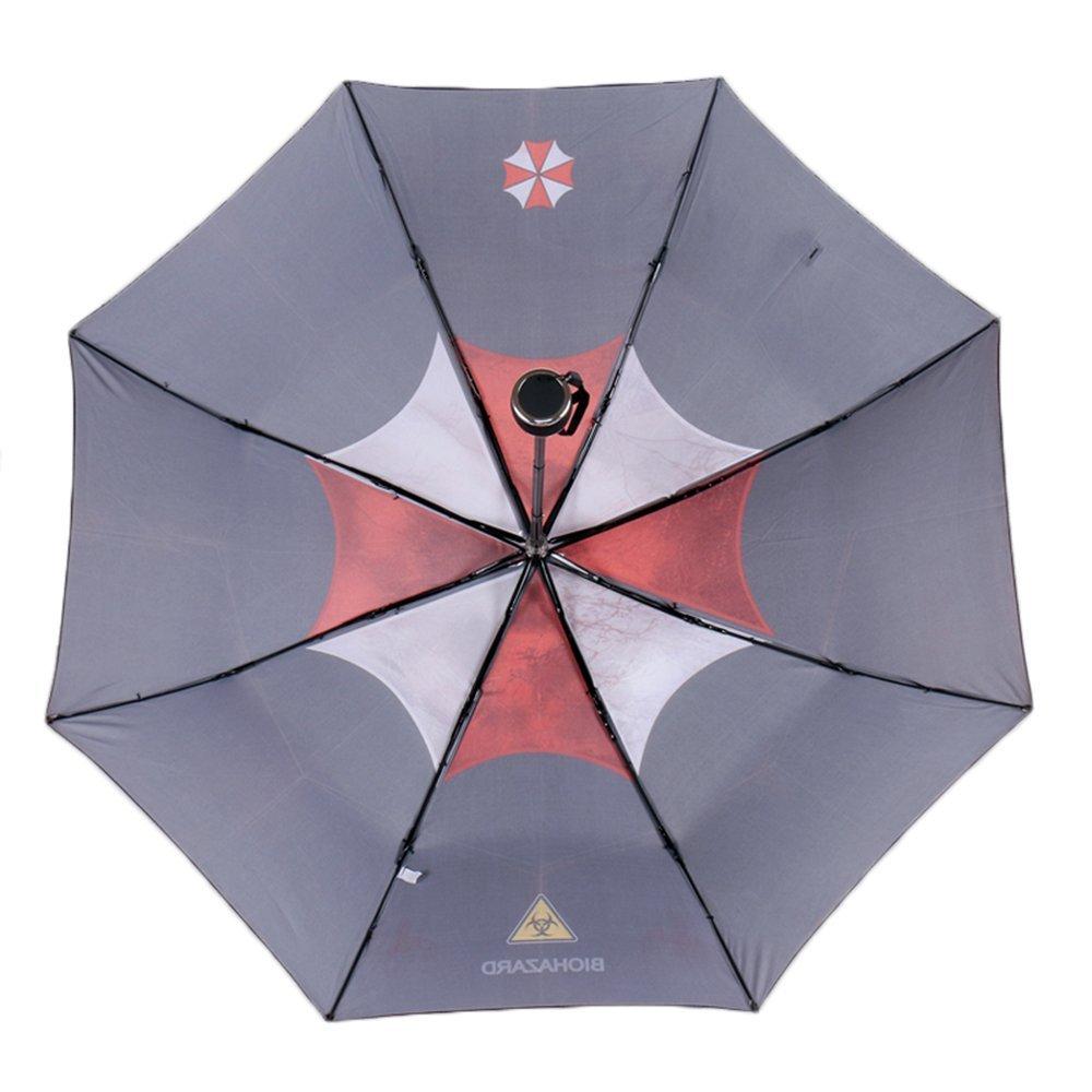 MyLifeUNIT Resident Evil Umbrella Corporation Paragua Automático Plegable Compacta: Amazon.es: Videojuegos