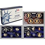 2008 S US Mint 14-Coin Proof Set Original Government Packaging Proof