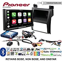 Volunteer Audio Pioneer AVH-W4400NEX Double Din Radio Install Kit with Wireless Apple CarPlay, Android Auto, Bluetooth Fits 2007-2014 Cadillac Escalade