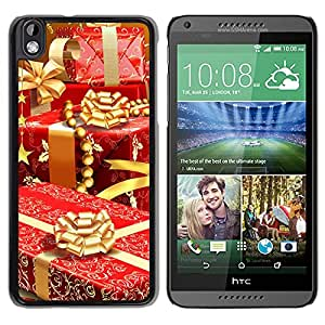 New Beautiful Custom Designed Cover Case For HTC Desire 816 With Rich Christmas Gifts Phone Case