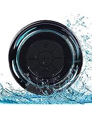 Altoparlante Bluetooth Impermeabile Senza Fili, Altoparlante da Doccia Portatile con Ventose, Microfono, Audio HD, Altoparlante Vivavoce, Perfetto per Casa, All'aperto, Viaggi