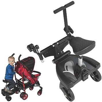 Asiento adicional Buggy Board para acoplar a carrito con ruedas, para cochecito de bebé, para niños de hasta 20 kg: Amazon.es: Bebé
