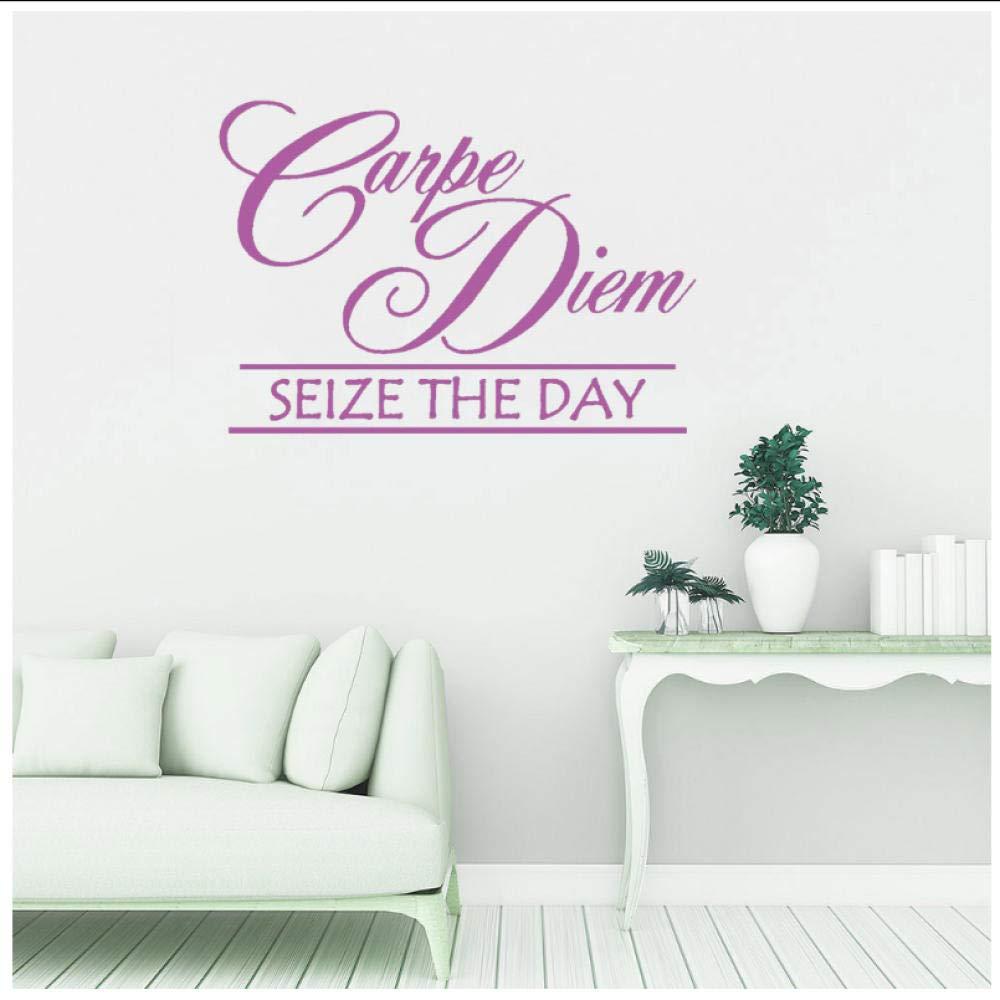 Carpe Diem Seize The Day Citas de pared de vinilo inspiradoras ...