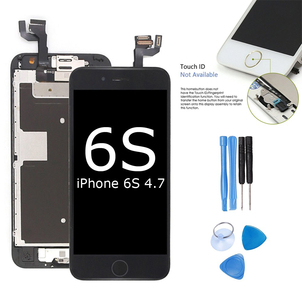 Ibaye Screen Replacement Compatible Iphone 6s Touch Digitizer Lcd 6 Original 47 Inch Black Display Full
