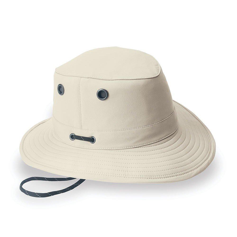 55b93ba6105db Tilley Hats LT5B Packable Sun Hat - Stone  Amazon.co.uk  Clothing
