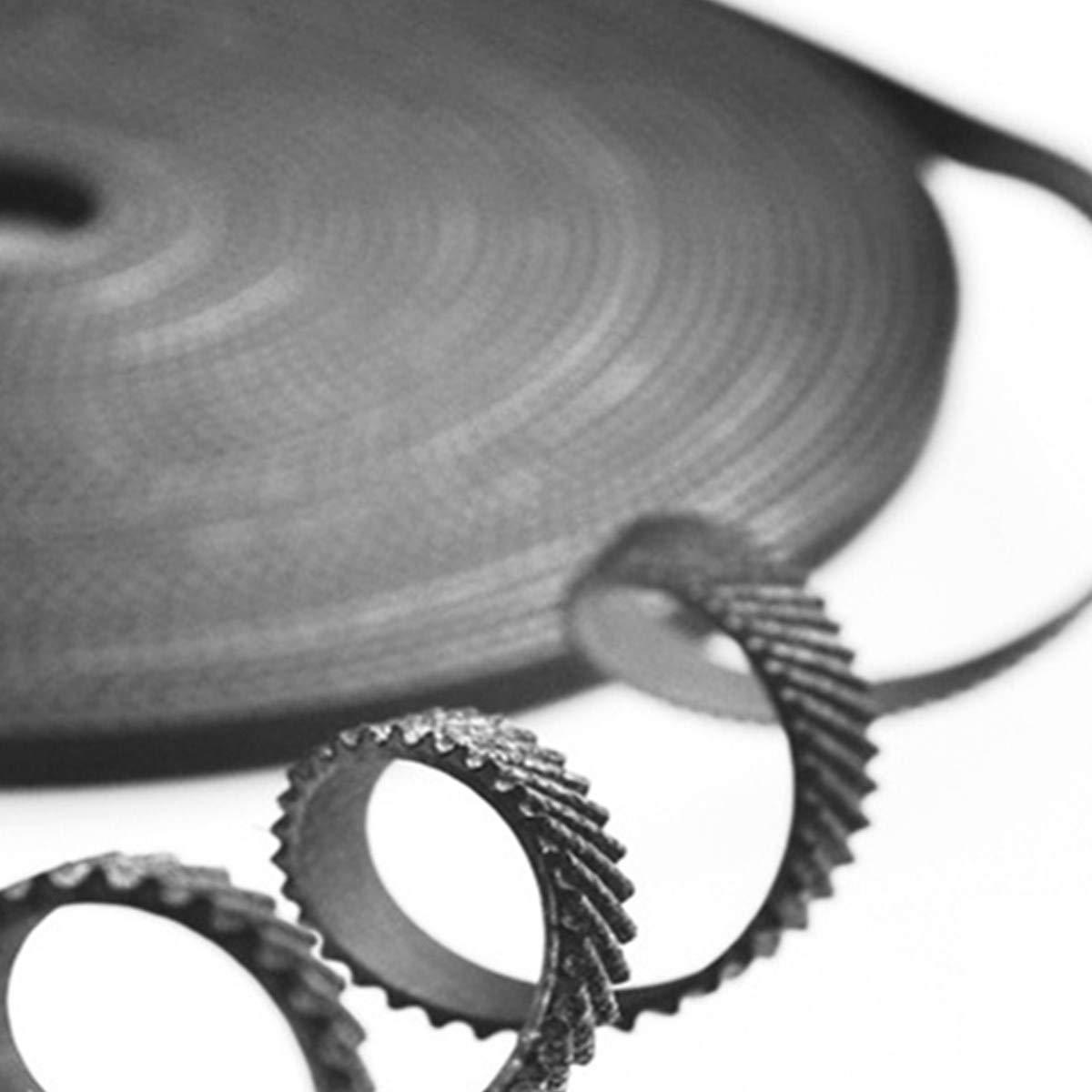 5 Meters 3D Printer Timing Belt 16.4 Ft Length Open GT2 Timing Belt 6mm Width Suitable for 3D Printers CNC Machine