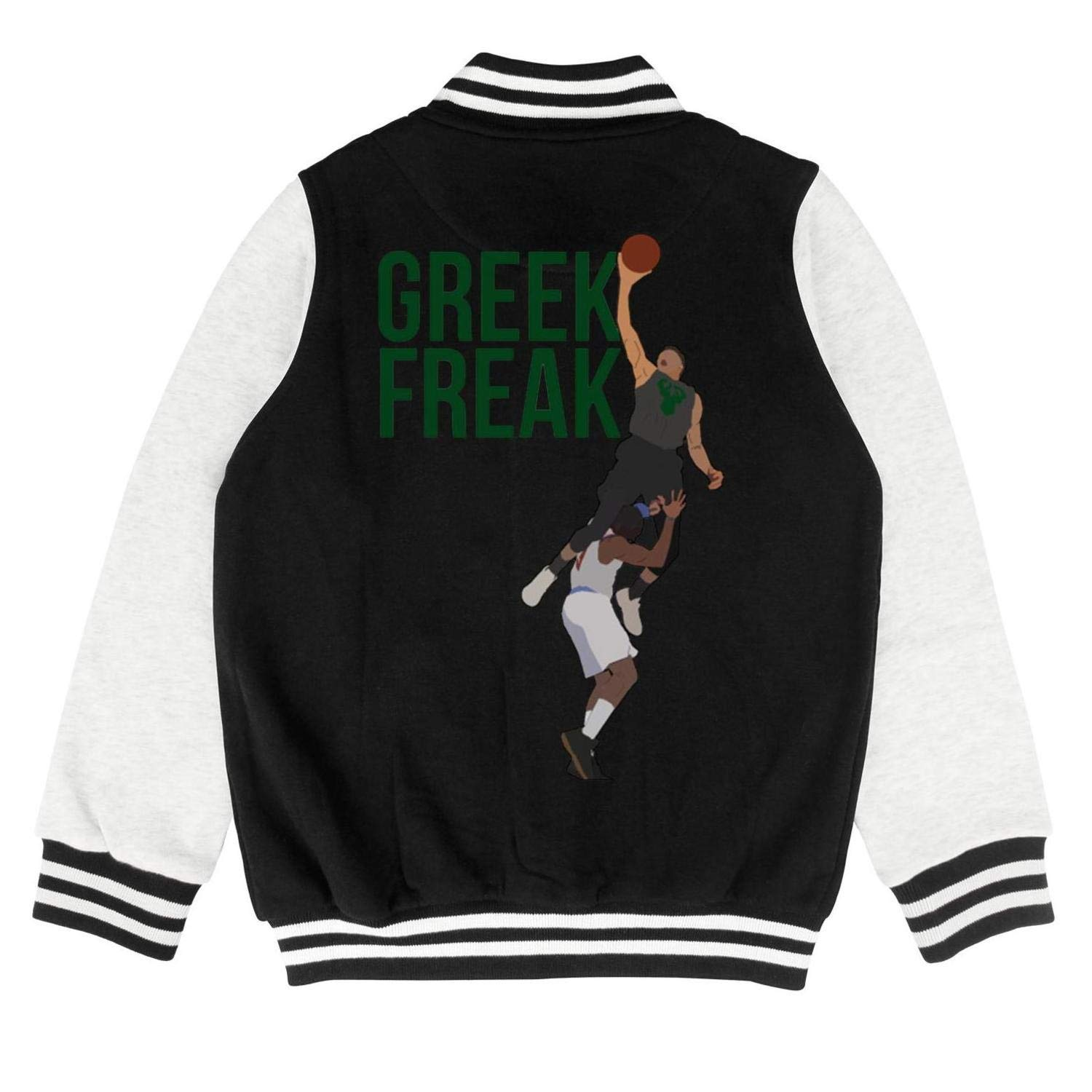 Marinas 34 Greek Freak Kids Outerwear Slim Baseball Jacket for 2-10 Y