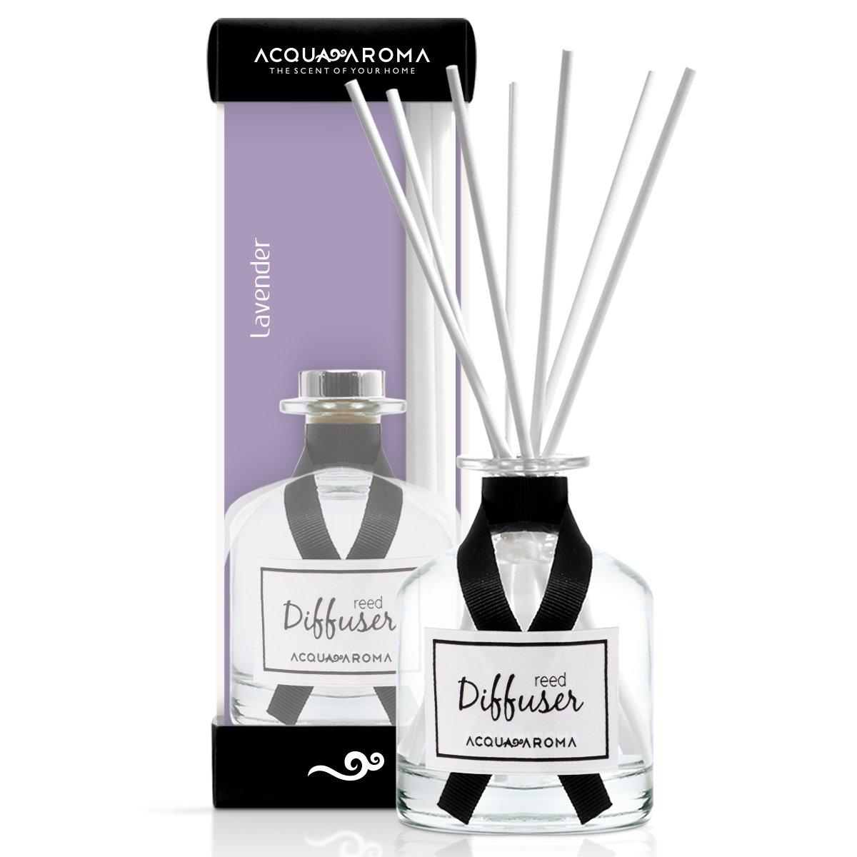 Acqua Aroma Everyday Collection Lavender Reed Diffuser 8.1 FL OZ (240ml)