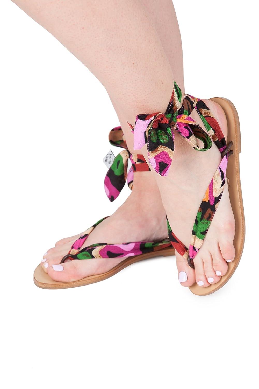 Sandales 19951 pour femme Sandales de Bohême Bohême Chaussures Sandales en ruban chaussures de mariage Sandales de plage de printemps Floral 2ef7c0d - latesttechnology.space