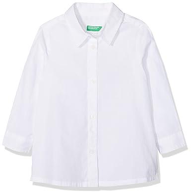 United Colors of Benetton Shirt, Camisa Manga Larga para Niñas: Amazon.es: Ropa y accesorios