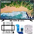 """Samsung UN65NU6900 65"""" NU6900 Smart 4K UHD TV (2018) w/Wall Mount Bundle Includes, Wall Mount Kit for 45-90 inch TVs, Screen Cleaner (Large Bottle) and SurgePro 6-Outlet Surge Adapter w/Night Light"""