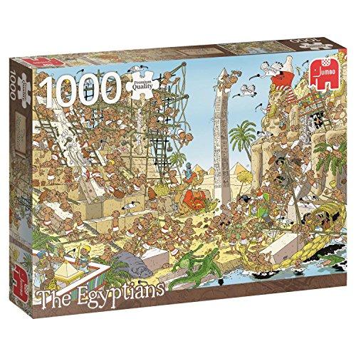 Jumbo 18512 History The Egyptians 1000 Piece Jigsaw -