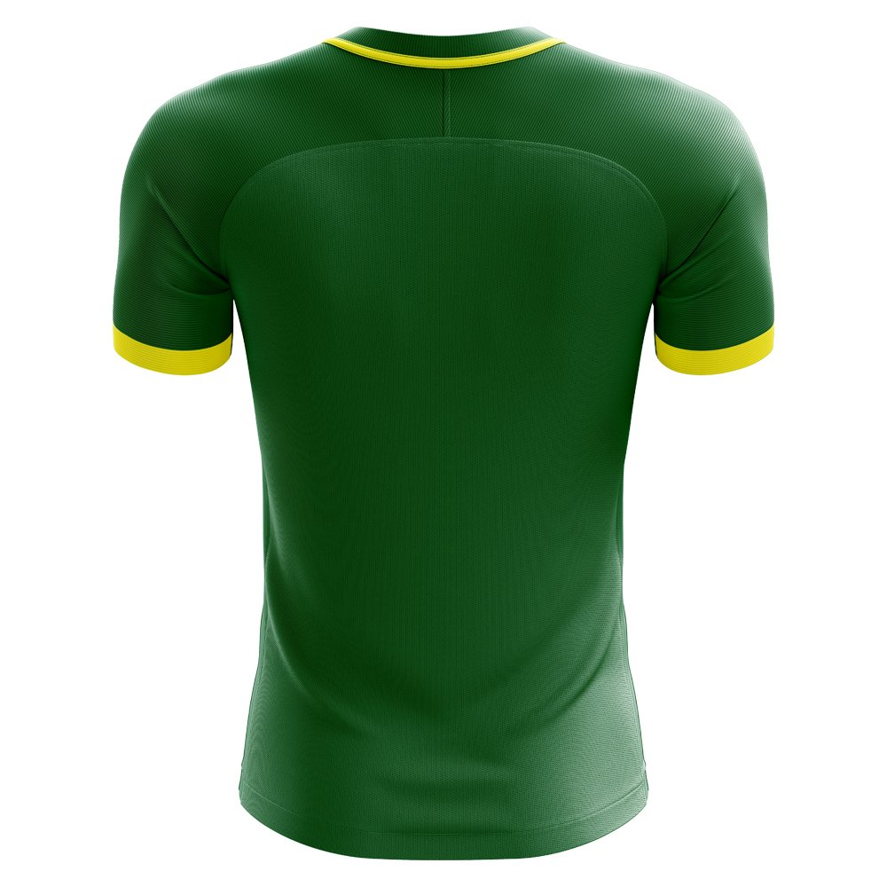 bff18e5f85b Amazon.com : Airo Sportswear 2018-2019 Cameroon Home Concept Football  Soccer T-Shirt Jersey (Kids) : Sports & Outdoors