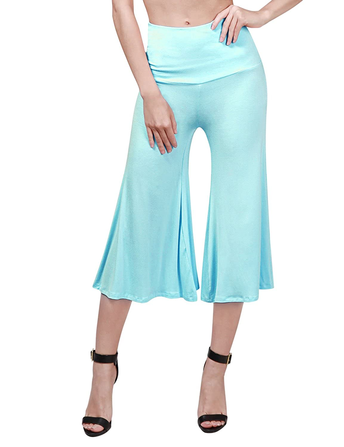 fb7feb68dd6 TWINTH Capri Pants Plus Size Wide Leg Loos Fit Lounge Pants cheap ...