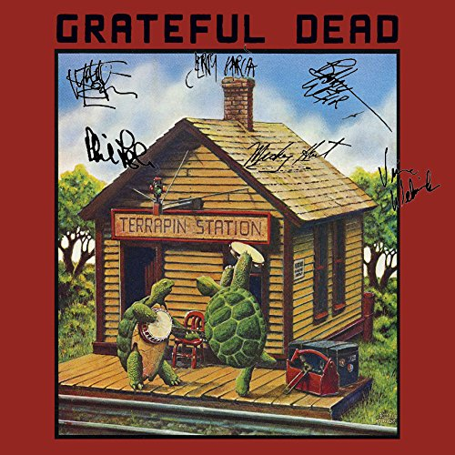 The Grateful Dead Signed Autographed Terapin Station Record Album Cover LP Autographed Signed Facsimile