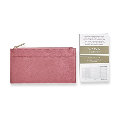 Amazon levenger mauve handy leather card courier business card levenger mauve handy leather card courier business card holder al14955 nm colourmoves