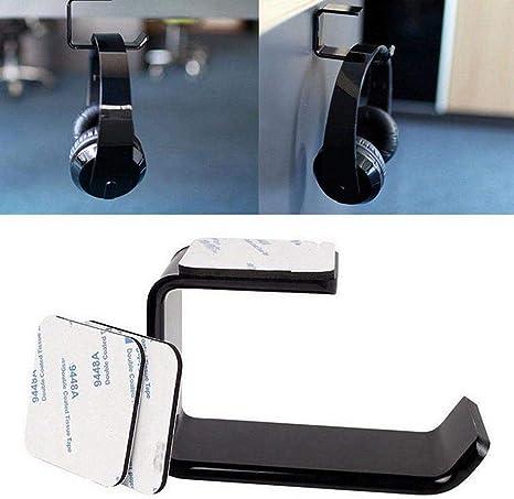Pawaca Halterung Für Kopfhörer Selbstklebend Acryl Wandhalterung Für Kopfhörer Haken Für Kopfhörer Halterung Für Büro Wand Tablet Universal Kabel 1 Pièce Küche Haushalt