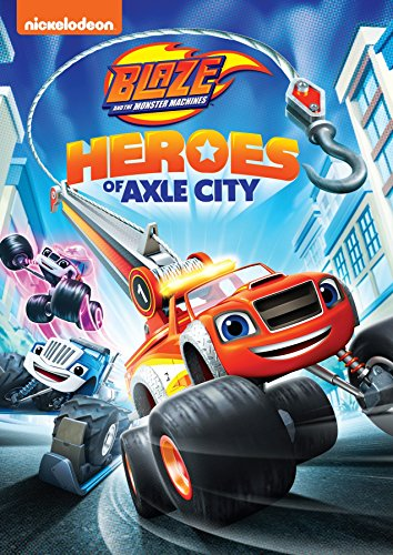 DVD : Blaze And The Monster Machines: Heroes Of Axle City (Widescreen, Amaray Case, Dubbed)