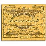Spencerian Penmanship (Copybook #1)