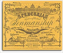 Book Spencerian Penmanship Copy Bk 1