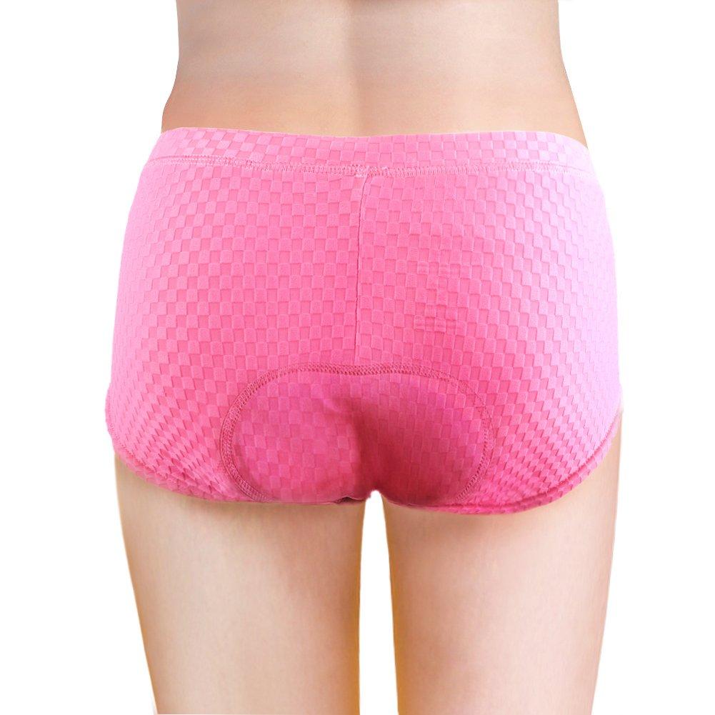 Baleaf Women's 3D Padded Bicycle Cycling Underwear Shorts: Amazon ...