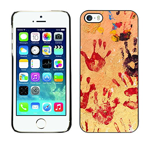 Premio Sottile Slim Cassa Custodia Case Cover Shell // V00002320 Mains // Apple iPhone 5 5S 5G