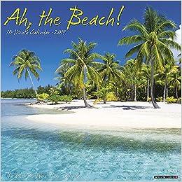 ah the beach 2019 wall calendar ebook