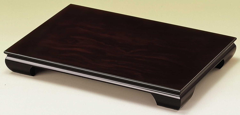 山家漆器店 木製 花台 桔梗 黒檀調 30cm 10号 B072MCH5MZ