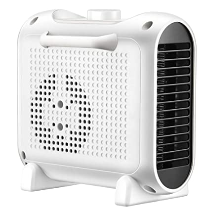 YSCCSY Calentador eléctrico Mini Ventilador 1800 W 3 Velocidades Calentador de Escritorio Hogar Muro Práctico Calentador