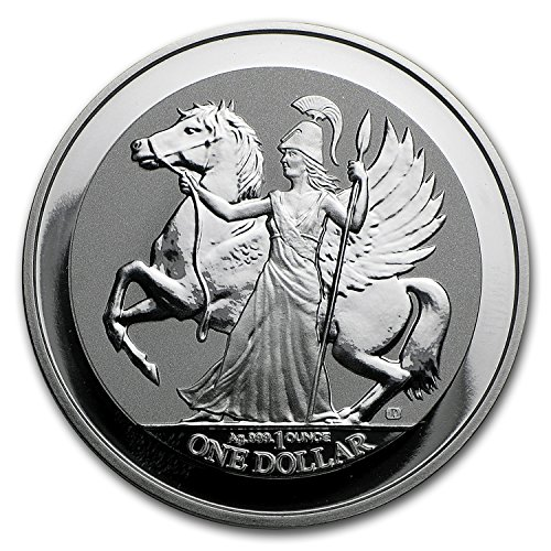 (2017 UK British Virgin Islands 1 oz Silver Pegasus Reverse Proof 1 OZ Brilliant)