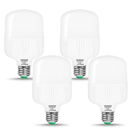 Techgomade Edison - Bombillas LED (E27, 9 W, 60 W, equivalente a
