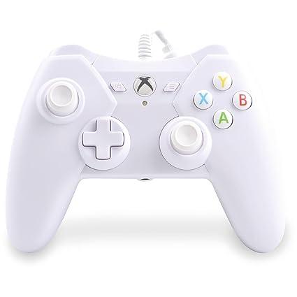 Xbox One Pro Ex Wired Controller Driver Windows 7: Amazon.com: Power A Xbox one Controller Wired (White) ProEx rh:amazon.com,Design